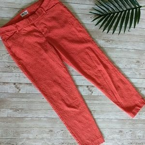 OLD NAVY Coral Pixie pants size 6